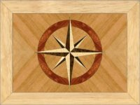 Compass Rose Trinket Box