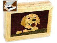 Happy Dog Trinket Box