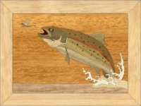 Trout Trinket Box