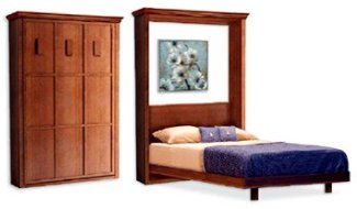 Vertical Wall Bed Frame Plans