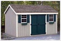 8' x 12' Gable Storage Shed