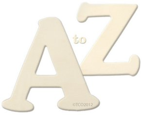 A to Z Wooden Letters