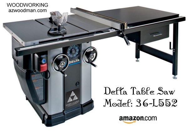 Table Saw Delta : Delta Power Tools