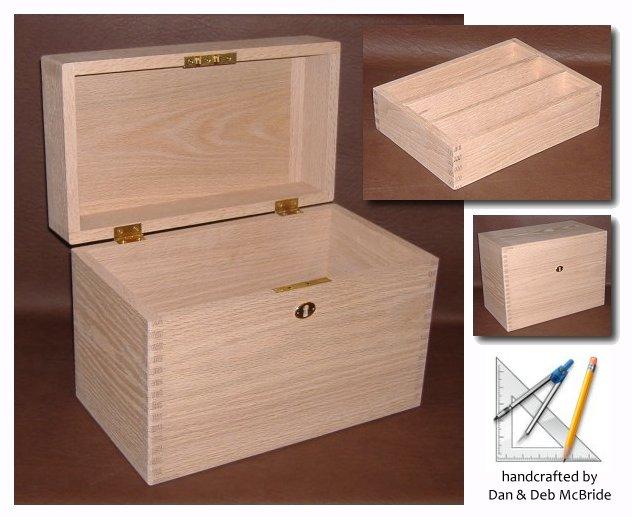Diy wood design free keepsake box woodworking plan for Storage box plans free