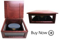 Military Hat Box (Solid Cherry)