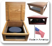Military Hat Cover Box