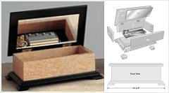 woodworking plans music box