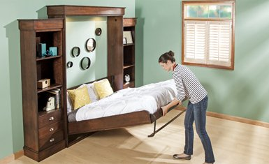 Murphy Bed Kits with Folding Tube Legs