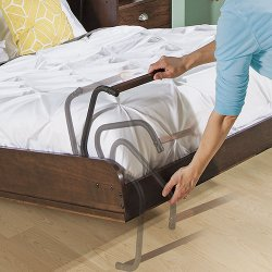 ... bed when it's folded out, and tuck neatly inside the bed when stored