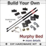 murphy bed hardware and plans