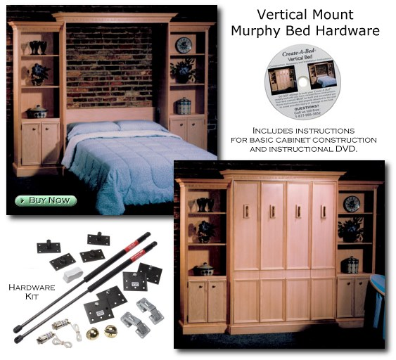 piston murphy bed hardware 2