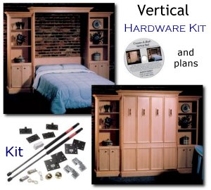 Murphy Bed Build Your Own Plans And Hardware