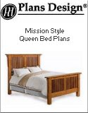 Build your own bed woodworking plans for Mission bed plans