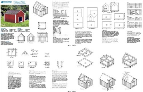 Build Your Own Dog House | Design Plans