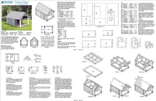 Build Your Own Dog House   Design PlansSpecs   Details