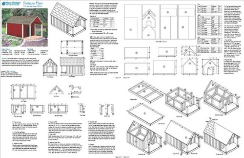 Build Your Own Dog House Design Plans