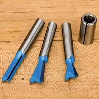 Dovetail Router Bit Upgrade Kit