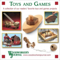 Woodworker's Journal Toys and Games CD