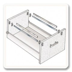 File Cabinet Hardware Converting File Drawers File
