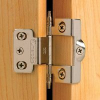 Urn Tip Full Back-to-Back Wrap-Around Inset Hinges