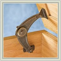 Soft Down Support Trunk Supports Toy Box Hardware