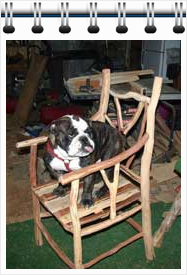 Log Furniture - Modern Tools Make the Hard Part Easy