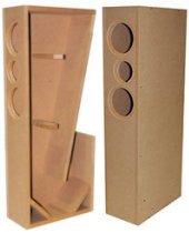 Delicieux TriTrix MTM TL Knock Down CNC Speaker Cabinet Pair