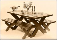 picnic table with bench plans like our park style picnic table this ...
