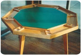 Traditional Poker Table Plans