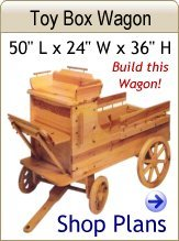 Toy Box Wagon Plans