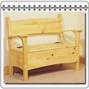 Plans for Building Toy Storage Boxes & Benches