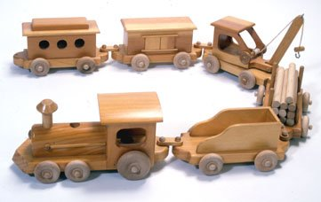 plans for wooden toy trains | Quick Woodworking Projects