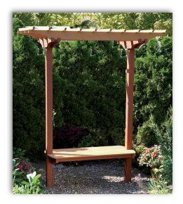 How To Build A Garden Arbor Video