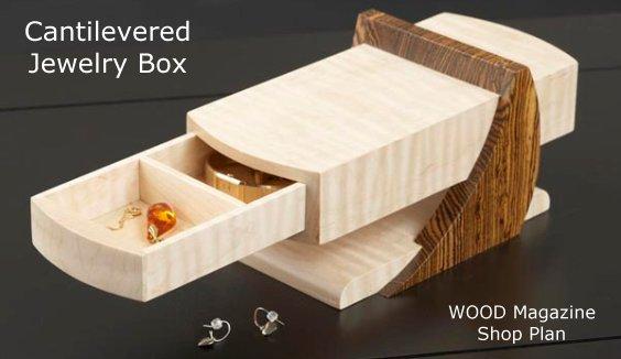Small Wood Jewelry Box Plans