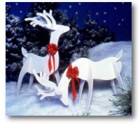 Woodworking Plans: Graceful Reindeer