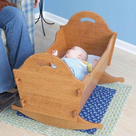 Колыбелька для малыша своими руками