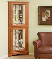 small curio cabinet plans