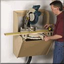 On-the-Wall Mitersaw Station Plan