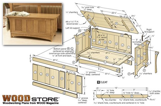 plans for building a wooden toy box | Online Woodworking Plans