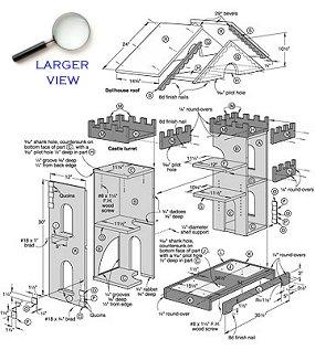 PDF Wooden Castle Dollhouse Plans Plans Free