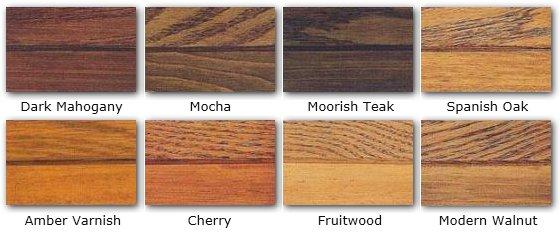 mocha wood stain